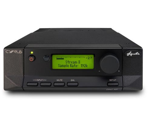 CYRUS Audio DAC XP Signature Frontansicht