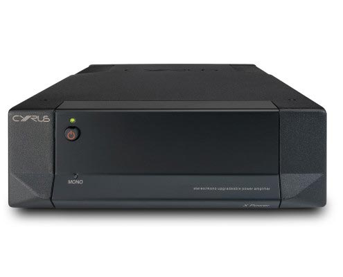 CYRUS Audio XPower Stereo-/Mono-Endverstärker Frontansicht