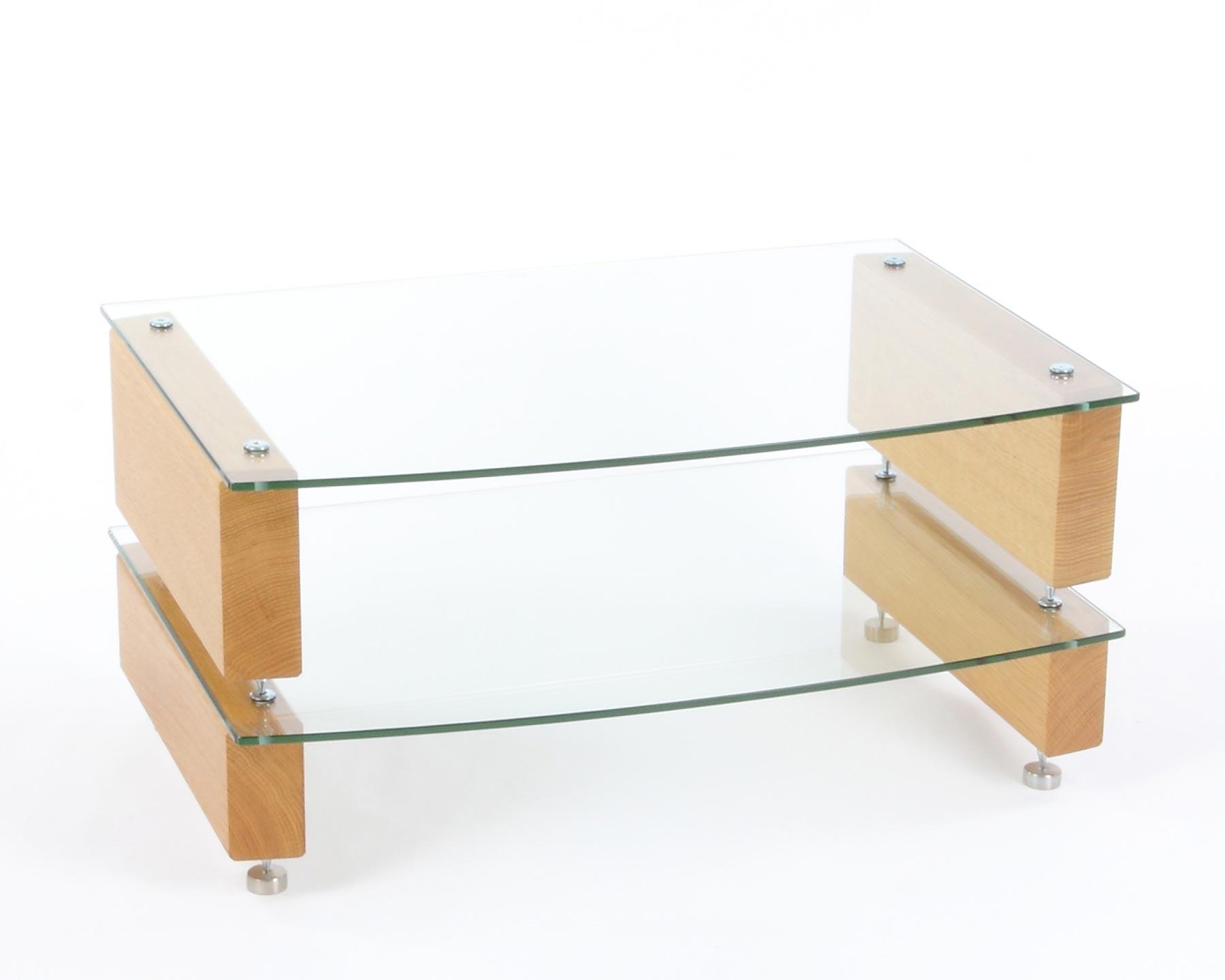 custom design hifi rack milan 6 hifi 2 eiche klarem glas bellevue audio gmbh. Black Bedroom Furniture Sets. Home Design Ideas