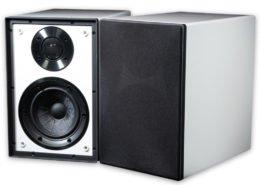 Cyrus Audio ONElinear Lautsprecher Paar hochglanz Weiß